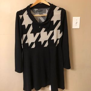 Houndstooth tunic/dress!